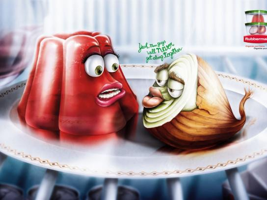 Rubbermaid Print Ad -  Onion