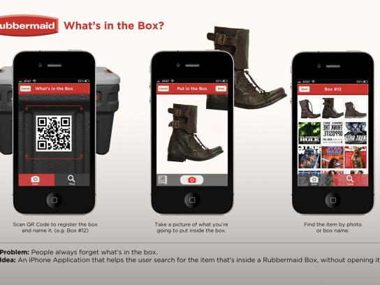 Rubbermaid Digital Ad -  App,What's in the Box?