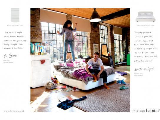 Habitat Print Ad -  Ruth & Matt