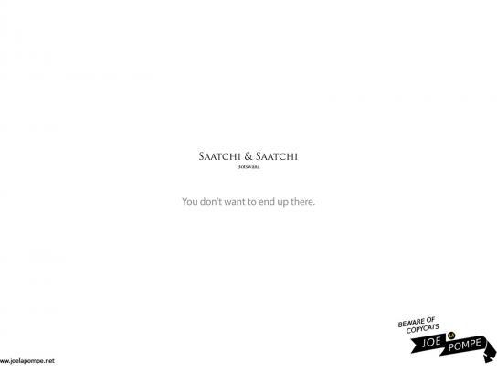 Joelapompe.net Print Ad -  Saatchi & Saatchi