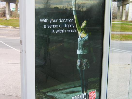 Salvation Army Outdoor Ad -  Bread