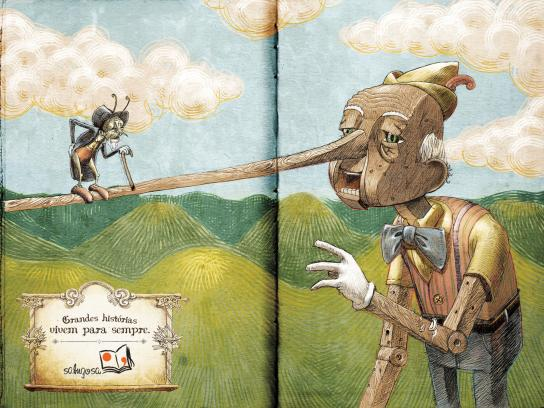 Sabugosa Print Ad -  Pinocchio