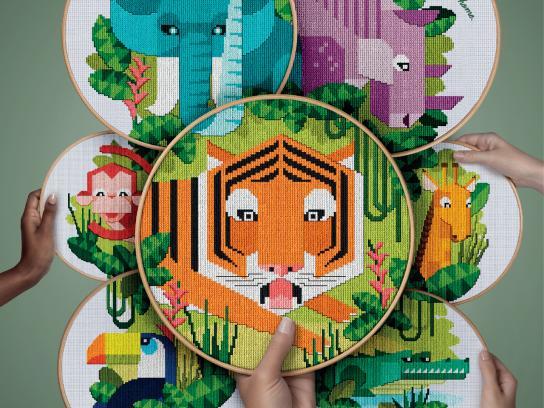 Döhler Print Ad -  Safari