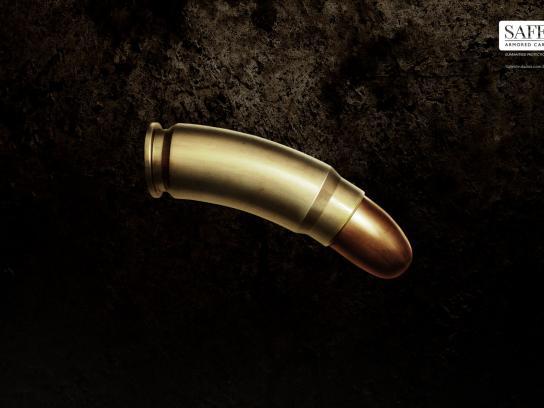 Safe Blindados Print Ad -  Bullet