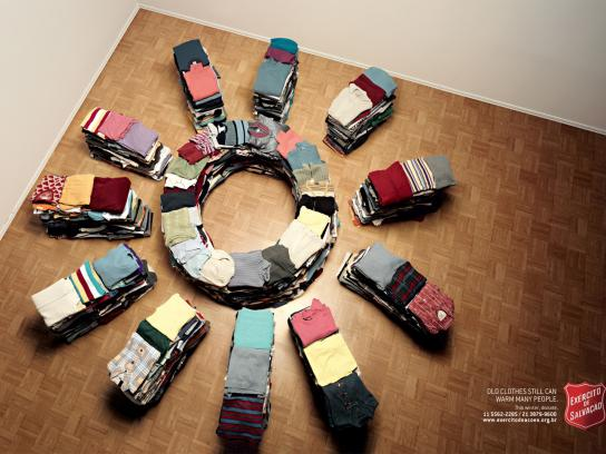 Salvation Army Print Ad -  Sun