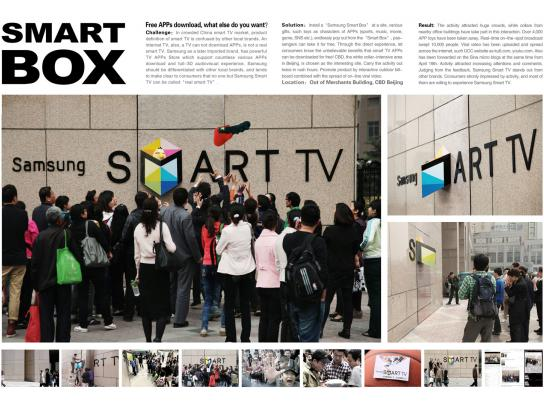 Samsung Ambient Ad -  Smart Box