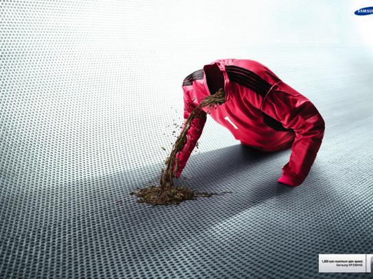 Samsung Print Ad -  Dirt