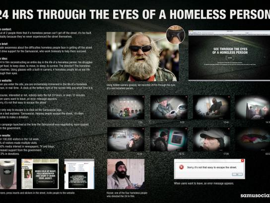 Samusocial Digital Ad -  Being a Homeless