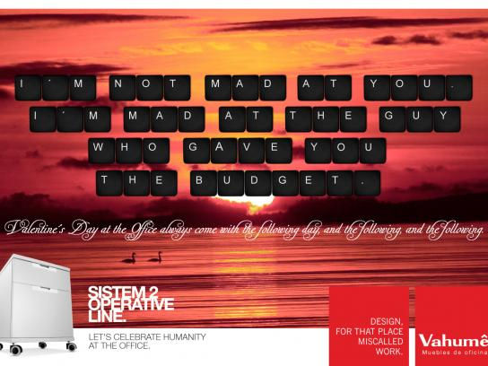 Vahume Print Ad -  Valentine's Day, 3