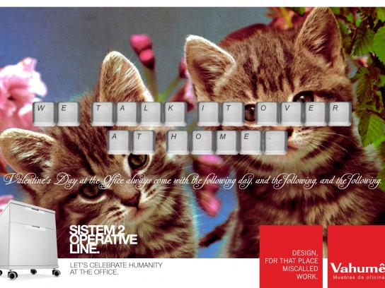 Vahume Print Ad -  Valentine's Day, 4