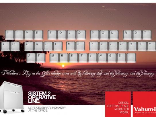 Vahume Print Ad -  Valentine's Day, 5