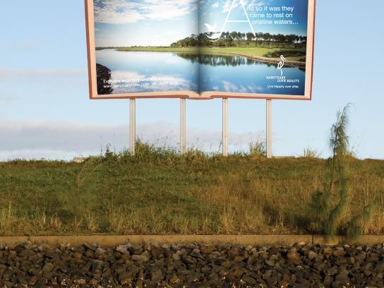 Sanctuary Cove Outdoor Ad -  Pristine waters