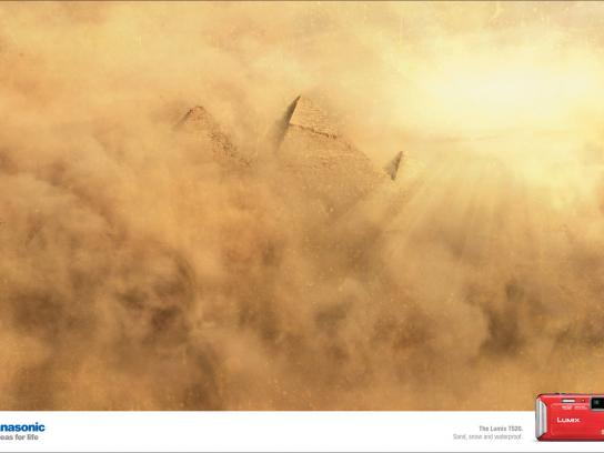 Panasonic Print Ad -  Weather, Sand