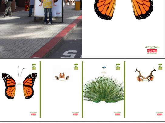 San Francisco Zoo Ambient Ad -  Animals