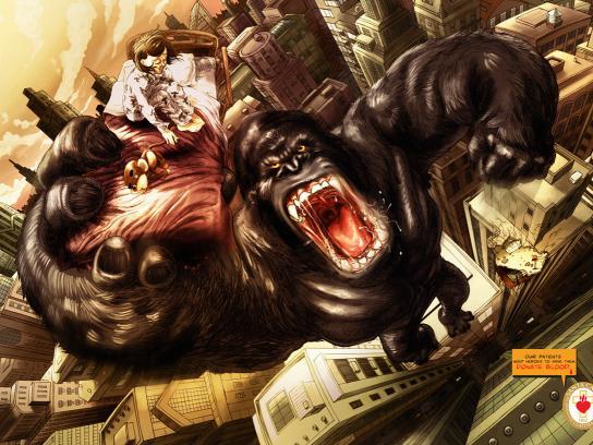Santa Casa Print Ad -  King Kong