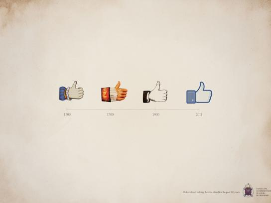 Santa Casa Print Ad -  Like