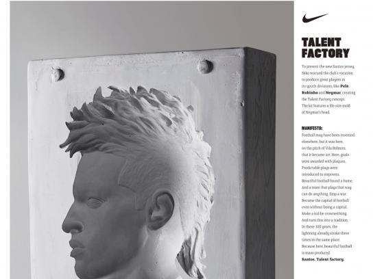 Nike Direct Ad -  New Clubs Sponsorship, Santos