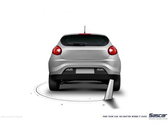 Sascar Print Ad -  Saw