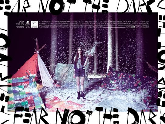 Satta Outside Festival Print Ad -  Fear Not The Dark, 3