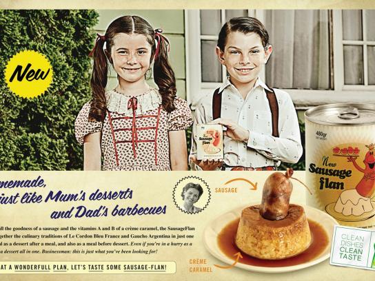 Ayudin Print Ad -  SausageFlan