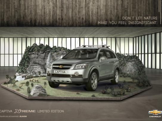 Chevrolet Print Ad -  Savanna