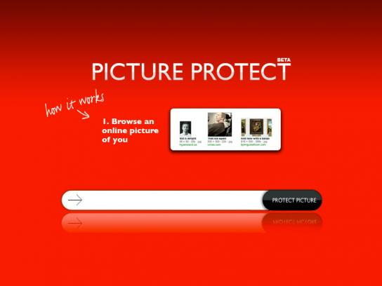 Save the Children Digital Ad -  Picture Protect