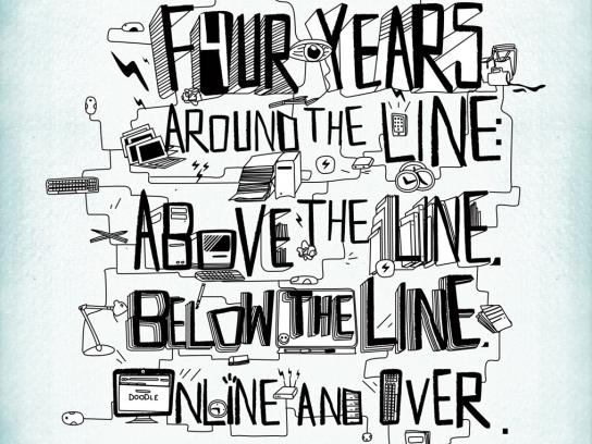 Around the line