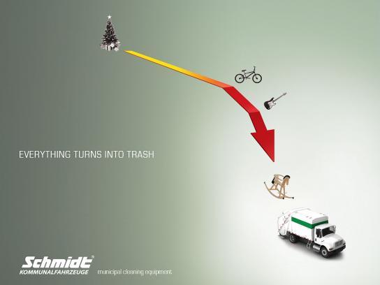 Schmidt Kommunalfahrzeuge Print Ad -  Toy