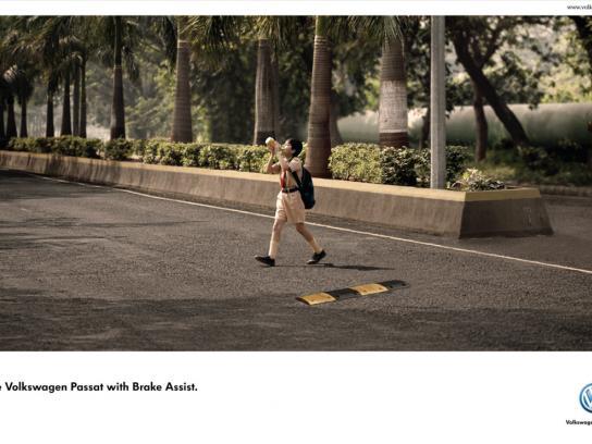 Volkswagen Print Ad -  School kid