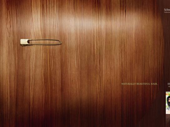 Schwarzkopf Print Ad -  Ebony