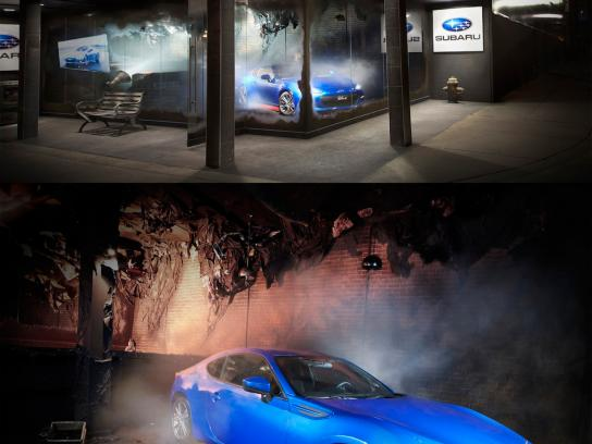 Subaru Ambient Ad -  Scorched
