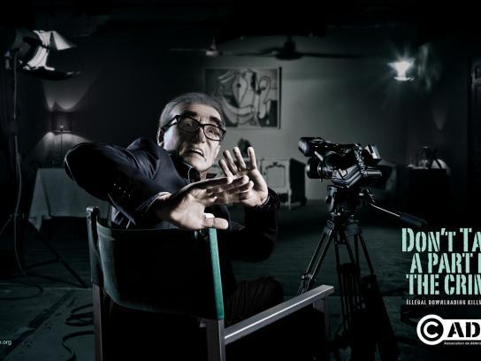 ADDA Print Ad -  Scorsese