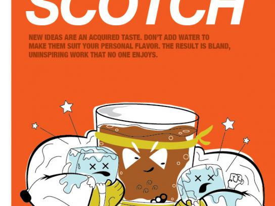 JWT Outdoor Ad -  Don't water down the scotch
