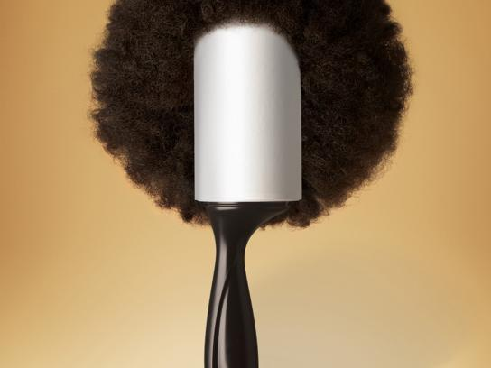 Scotch-Brite Print Ad -  Your clothes' hairbrush, 2