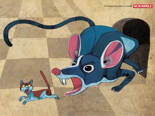 Scrabble Print Ad -  Mouse