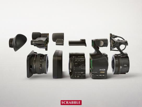 Scrabble Print Ad -  Camera