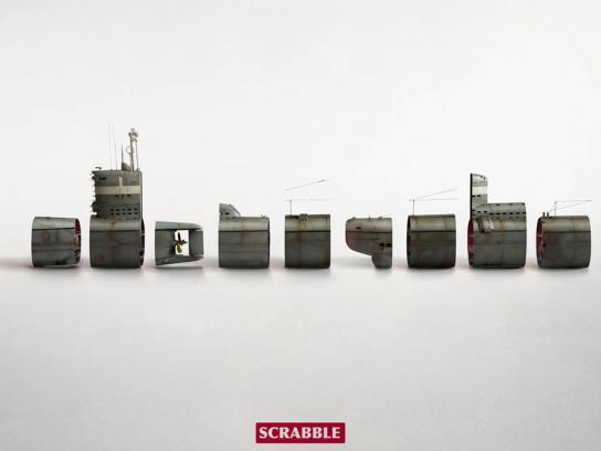 Scrabble Print Ad -  Submarine