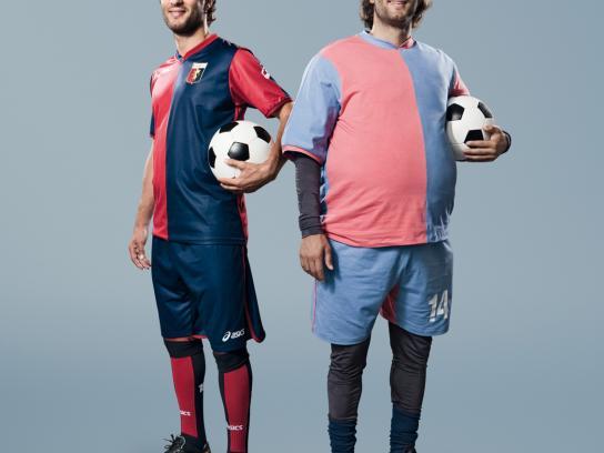 SKY Print Ad -  The most beautiful football, Sculli