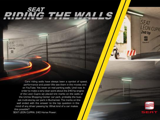 Seat Ambient Ad -  Riding The Wall