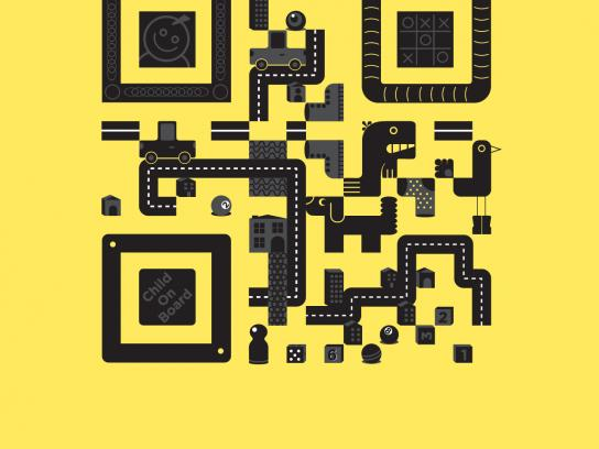 Seat Print Ad -  QR Code