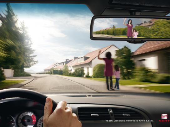 Seat Print Ad -  Speed