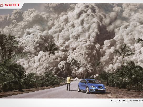 Seat Print Ad -  Volcano