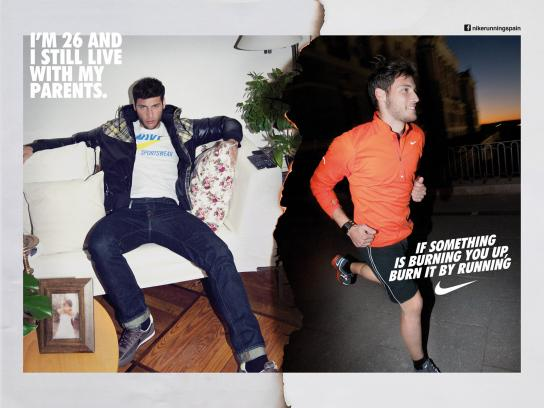 Nike Print Ad -  Run Madrid, Sebastian