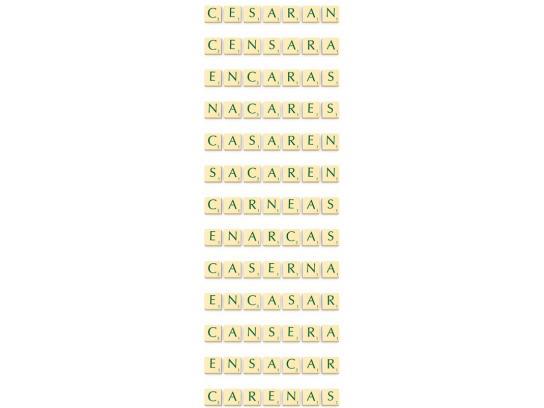 Scrabble Print Ad -  Secarán