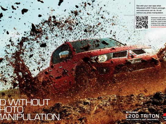 Mitsubishi Print Ad -  No photoshop
