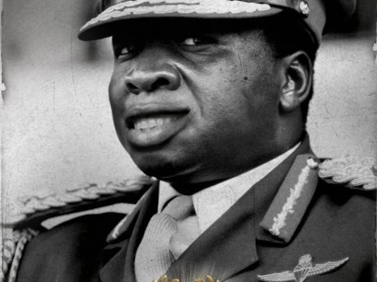 Senokot Print Ad -  Idi Amin