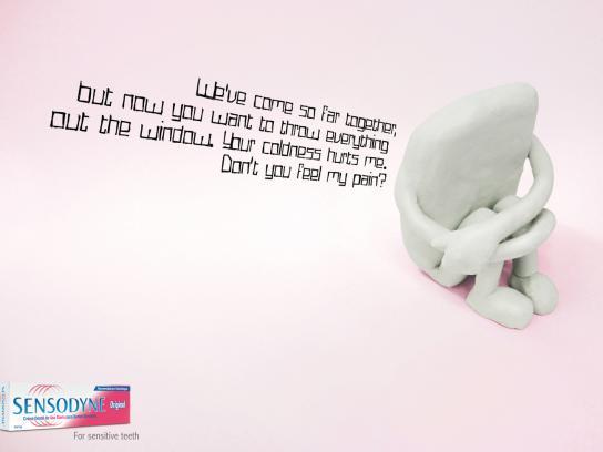 Sensodyne Print Ad -  Teeth, 2