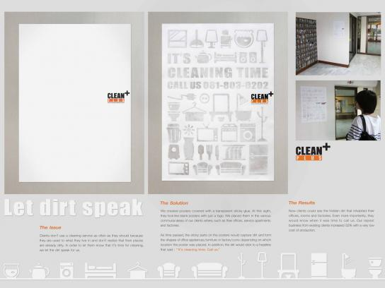 Clean Plus Outdoor Ad -  Service apartment