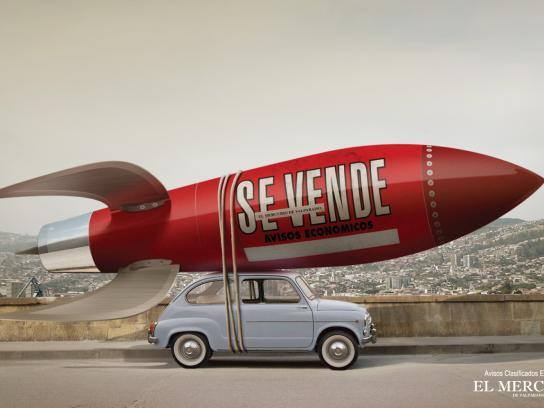 El Mercurio de Valparaíso Print Ad -  Car