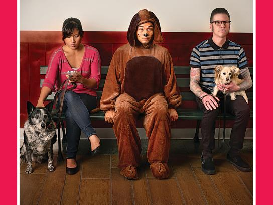 SPCA Print Ad -  Waiting Room